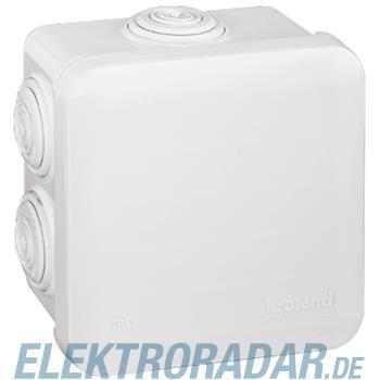 Legrand 92012 Abzweigdose quadratisch 80x80x45mm, 7 Membran Einf