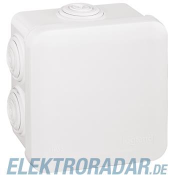 Legrand 92013 Abzweigdose quadratisch 80x80x45mm, 7 Membran Einf