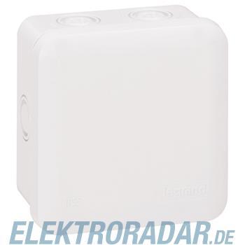 Legrand 92014 Abzweigdose quadratisch 80x80x45mm, Vorprägung 7xM