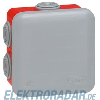 Legrand 92015 Abzweigdose quadratisch 80x80x45mm, 7 Membran Einf