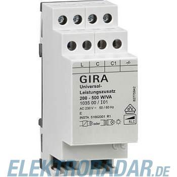 Gira Universal-Leistungszusatz 103500