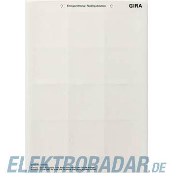 Gira Beschriftungsbogen 145800