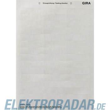 Gira Beschriftungsbogen 145900
