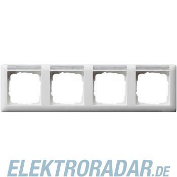 Gira Rahmen 4-fach waagerecht m 109427