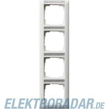 Gira Rahmen 4-fach senkrecht m. 111427