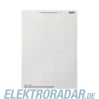 Gira Beschriftungsbogen 108900