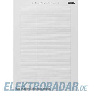 Gira Beschriftungsbogen 145300