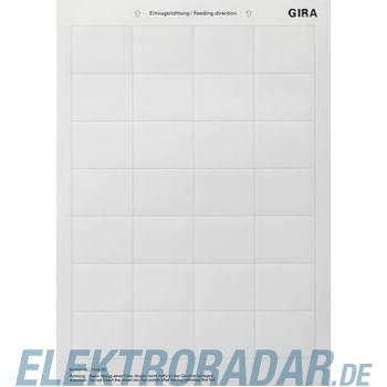 Gira Beschriftungsbogen 145600
