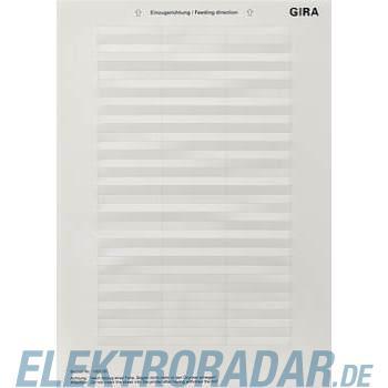 Gira Beschriftungsbogen 145200