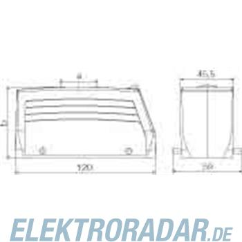 Weidmüller Steckverbinder-Gehäuse HDC 64D TOBU 1PG29G