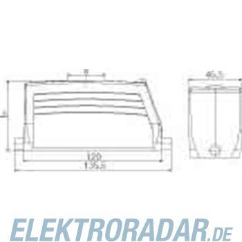 Weidmüller Steckverbinder-Gehäuse HDC 64D TOLU 1PG21G