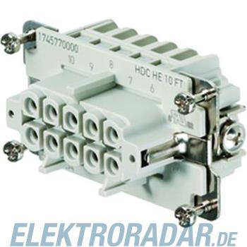 Weidmüller Steckverbinder-Gehäuse HDC-HE-16SZF OS