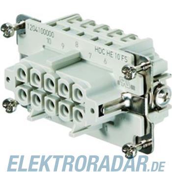 Weidmüller Kontakteinsatz HDC HE24MS w/o Screw