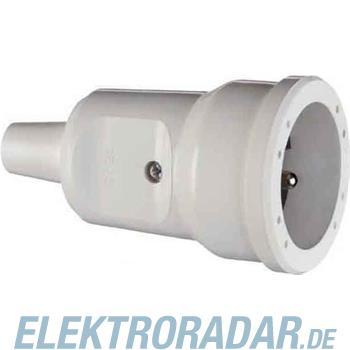 ABL Sursum PVC-Kupplung erh. BS, schw 1679002
