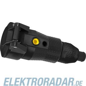 ABL Sursum 2KT-Schuko-Stecker sw/sw 2,5 qmm 1529100