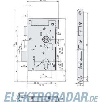 Assa Abloy effeff Elektro-Sicherheitsschloss 809M12-72A65E4D