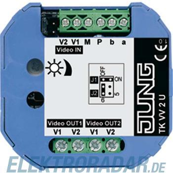 Jung TKM Videoverteiler 2-fach TK VV 2 U