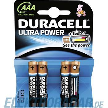 Procter&Gamble Dura. Batterie Alkaline Ultra Power-AAA Bli4