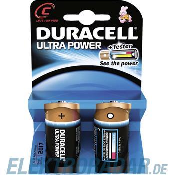 Procter&Gamble Dura. Batterie Alkaline Ultra Power-C Bli.2