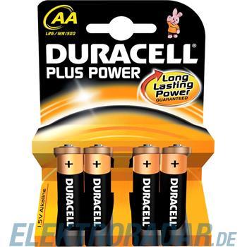 Procter&Gamble Dura. Batterie Alkaline PowerPlus-AA Bli.4