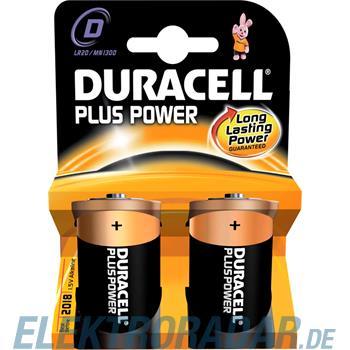 Procter&Gamble Dura. Batterie Alkaline Plus Power-D K2