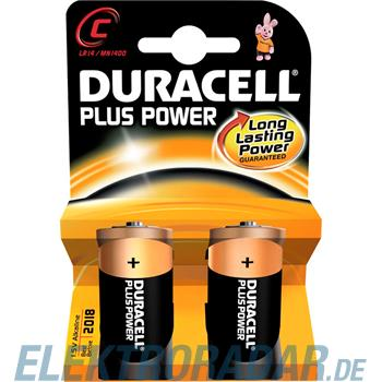 Procter&Gamble Dura. Batterie Alkaline Plus Power-C K2