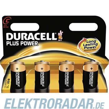 Procter&Gamble Dura. Batterie Alkaline Plus Power-C K4