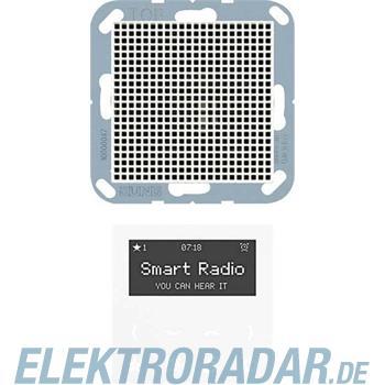 Jung Radio mit Display Set Mono RAD A 518 WW