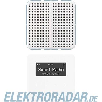 Jung Radio mit Display Set Mono RAD CD 518 SW