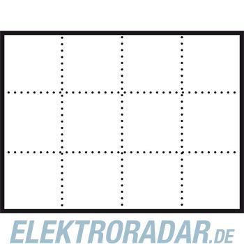 Siedle&Söhne Infoschild-Modul ISM 611-4/3-0 W