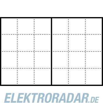 Siedle&Söhne Infoschild-Modul ISM 611-6/4-0 W