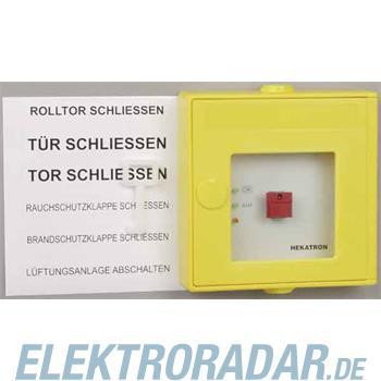 Hekatron Vertriebs Druckknopftaster DKT 02 ge