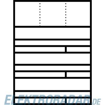 Siedle&Söhne Raumspar-Briefkasten AP RGA 611-3/1 W