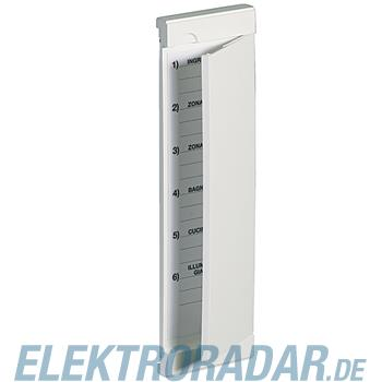 Legrand 16100FIG ABDECKUNG F. 2 UP-DOSEN ANTHRA