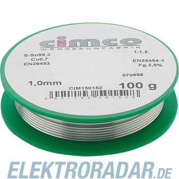 Cimco Elektroniklot bleifrei 15 0182