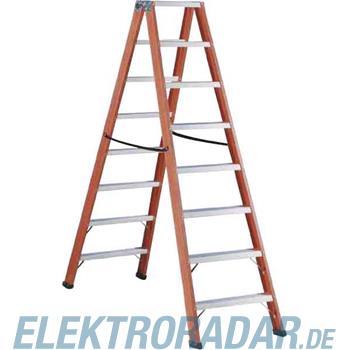 Cimco Stufen-Stehleiter 2 x 8 Sp 14 6508