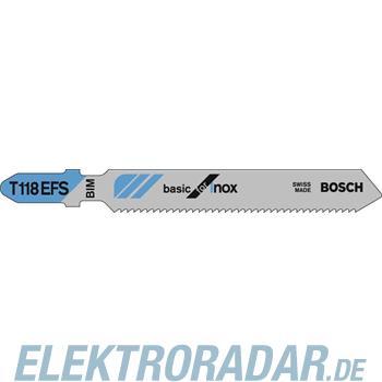 Bosch Stichsägeblätter 2 608 636 497(VE5)