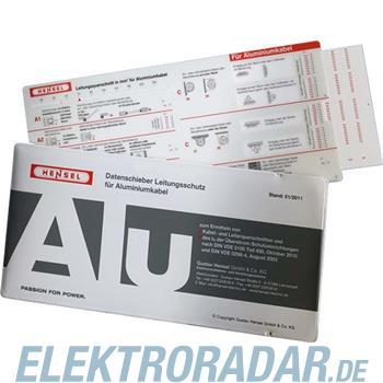Hensel Datenschieber-LS Alu 98 17 0711
