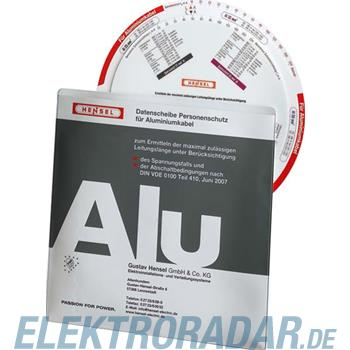 Hensel Datenscheibe-PS Alu 98 17 0712