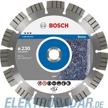 Bosch Diamanttrennscheibe 2 608 602 643