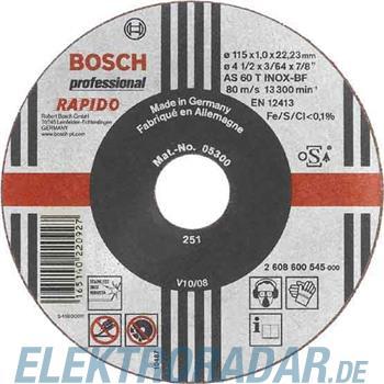 Bosch Trennscheibe 2 608 600 215