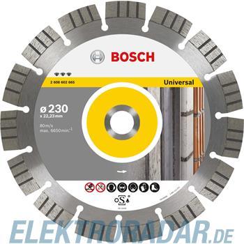 Bosch Diamanttrennscheibe 2 608 602 663
