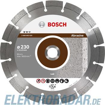 Bosch Diamanttrennscheibe 2 608 602 607