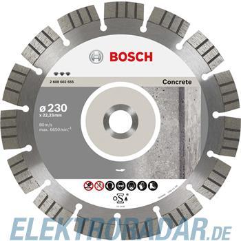 Bosch Diamanttrennscheibe 2 608 602 653