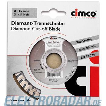 Cimco Diamanttrennscheibe 20 8732