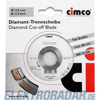 Cimco Diamanttrennscheibe 20 8736