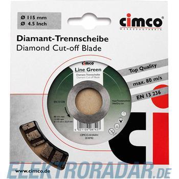 Cimco Diamanttrennscheibe 20 8742