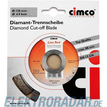 Cimco Diamanttrennscheibe 20 8754