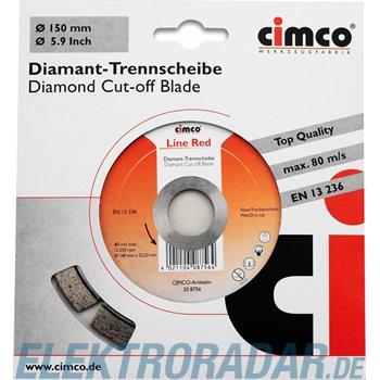 Cimco Diamanttrennscheibe 20 8756