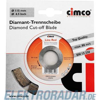 Cimco Diamanttrennscheibe 20 8758